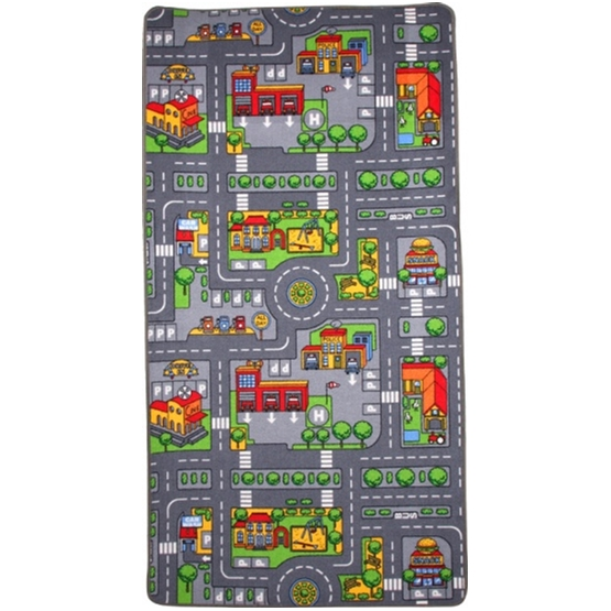 Small Foot - Traffic Duoplay Rug 165 X 100 Cm