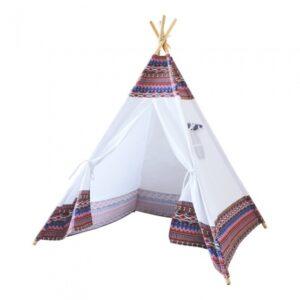 Sunny - Tepee Tent Led160 Cm Vit/Mångfärgad