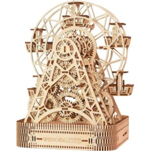 Wooden City - Model Kit Ferris Wheel Wood Natural 429 Parts
