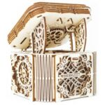 Wooden City - Model Kit Mystery Box Wood Natural 176-Piece