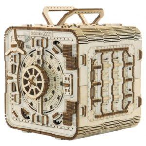 Wooden City - Model Kit Safe 15 Cm Wood Natural 225 Parts