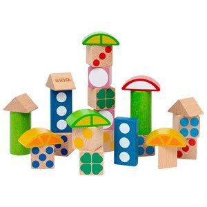 BRIO BRIO® Baby - 30112 25 Patterned Wooden Blocks 12 - 24 mån