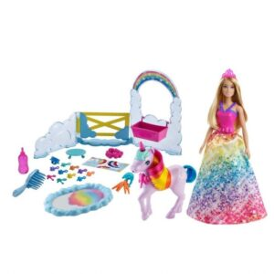Barbie Dreamtopia Rainbow potty unicorn Lekset
