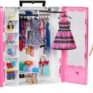 Barbie Garderob Fashionistas Ultimate Closet med docka