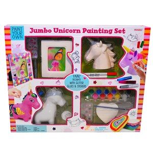 Champion Art Jumbo Unicorn painting set 3 - 10 år