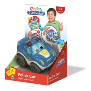Clementoni Baby Police Pullback Car