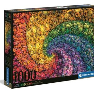 Clementoni Pussel 1000 st (Colorboom Blommor)