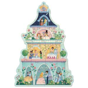 Djeco - Pussel - The princess tower, 36 pcs