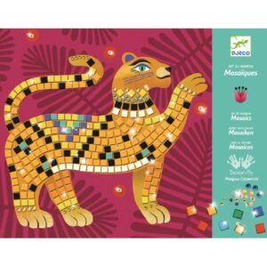 Djeco - Pyssel - Mosaic kits - Deep in the jungle