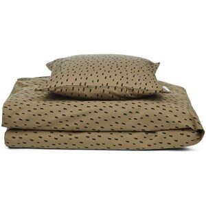 Liewood Carmen Baby Sängklädesset Graphic Stroke/Khaki one size