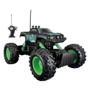 Maisto - Monster Truck Rc Rock Crawler 1:18 Grön/Svart 2-Part