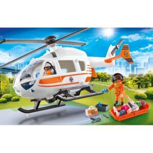 Playmobil City Life 70048, Räddningshelikopter