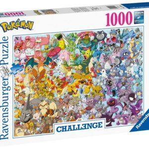 Ravensburger Pokémon Challenge Pussel 1000-bitar
