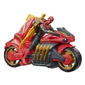 Spider-Man 3 Movie Figur och motorcykel