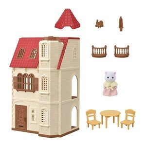 Sylvanian Families Red Roof Tower Home 3 - 11 år
