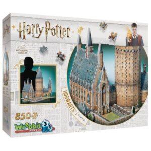 Wrebbit Harry Potter Great Hall 3D-Pussel (850-bitar)