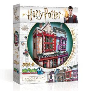 Wrebbit Harry Potter Quidditch butik 3D-Pussel (295-bitar)